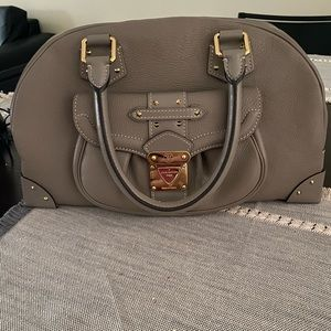 Authentic Louis Vuitton all leather grey